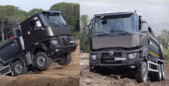 La construcción no tiene secretos para los modelos de las nuevas gamas C y K de Renault Trucks