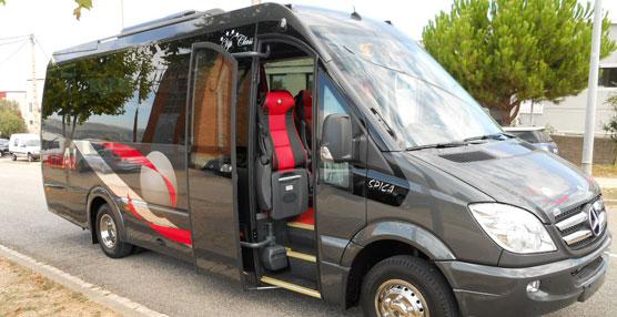 Autocares Iglesias estrena dos unidades Spica de Car-Bus.net carrozadas sobre chasis cabina Mercedes-Benz 519DCI