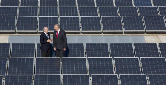 SEAT inaugura la mayor planta solar de la industria del automóvil con 53.000 paneles instalados en la cubierta