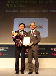 Hankook seleccionado para el Índice de Sostenibilidad Dow Jones de Asia y Pacífico