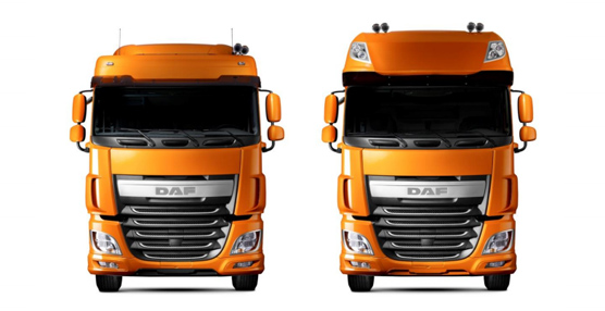 DAF Trucks, Styrolution y Takata colaboran para crear la nueva cabinaDAF XF 106