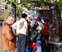 Losusuarios del transporte público disminuyen un 0,5% en septiembre, respecto al mismo mes de 2012