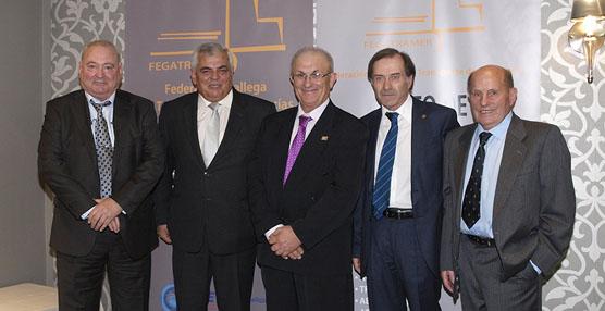 Celebración del V Acto de Reconocimiento Empresarial del Transporte Gallego