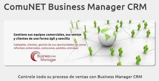 ComuNET presenta el Business Manager CRM, un software de gestión de clientes para las pymes españolas