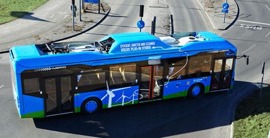 El 'Plug-in' híbrido de Volvo Buses reduce el consumo de combustible en un 81% y el consumo total en más del 60%