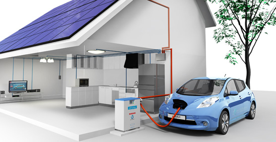 'Vehicle to Home' de Nissan ofrece una integración inteligente de los vehículos eléctricos y de la energía en el  hogar
