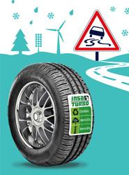 Ecological Drive, especialistas en neumáticos reciclados, lanzan 'En invierno, la naturaleza nos pone a prueba'
