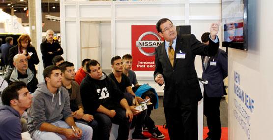 Nissan acerca el motor eléctrico a los futuros profesionales en el Electric Vehicle Symposium