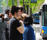 El transporte urbano fue utilizado por más de 218,2 millones de viajeros en septiembre