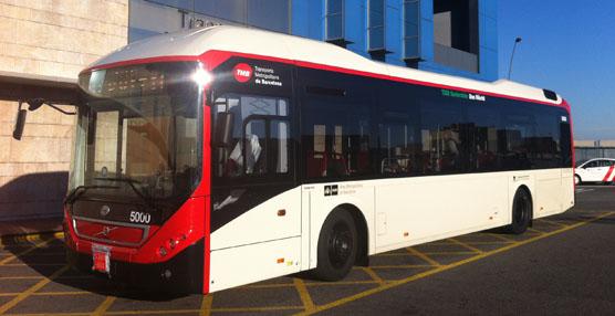La marca Volvo entrega a TMB el primero de los cinco autobuses híbridos Volvo 7900