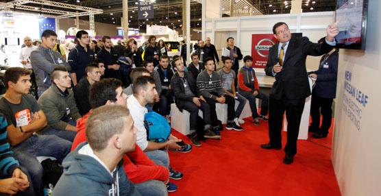 Nissan acerca el motor eléctrico a los futuros profesionales durante la 27ª edición del Electric Vehicle Symposium