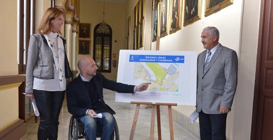 El Consistorio de Málaga reorganiza el servicio de transporte público a Churriana con nuevas líneas directas