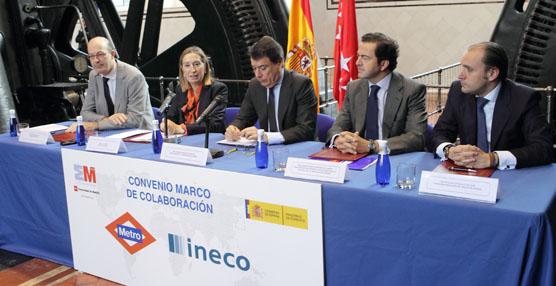 Ineco y Metro de Madrid concurrirán de forma conjunta a proyectos en Arabia Saudí, Abu Dhabi, Brasil y Puerto Rico
