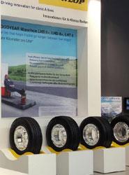 Goodyear Dunlop apoya la propuesta para favorecer camiones más aerodinámicos y seguros.
