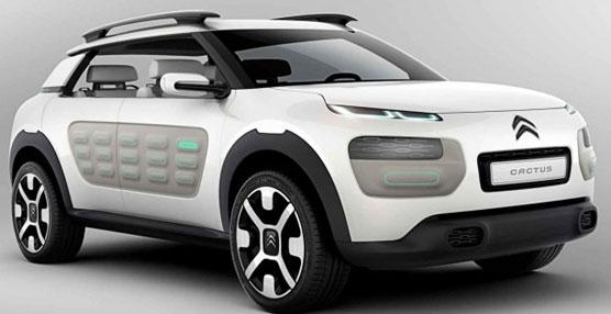 El nuevo concept car de Citroën se ha dejado ver circulando por las calles de la capital