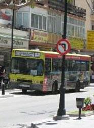 Autobús urbano de Fuengirola.