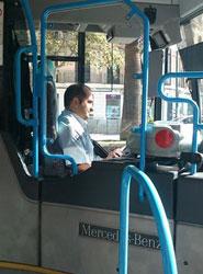 Un total de 14 autobuses cuenta con mampara de seguridad en Palma de Mallorca
