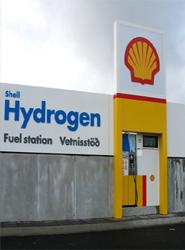 Estación de carga de hidrógeno.