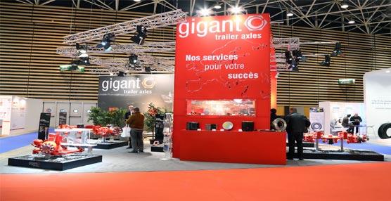 Gigant presenta sus productos en la feria de muestras 'Solutrans', con una buena acogida por parte de los visitantes