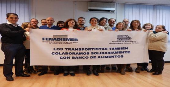 Fenadismer transporta un millón de kilos de alimentos en la 'Gran recogida' del Banco de Alimentos de Madrid