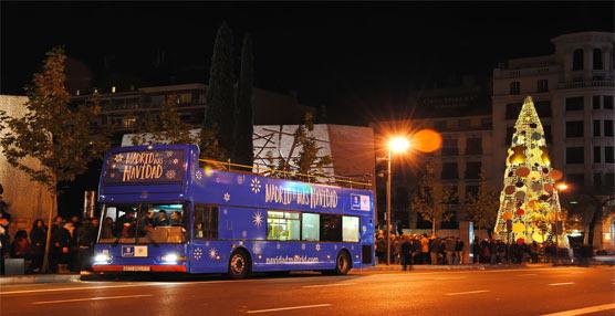 La EMT pone en servicio el jueves el 'Bus de la Navidad' con una tarifa reducida para los mayores de 65 años