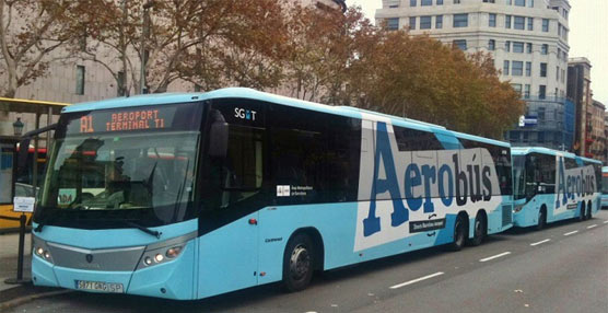 Autobuses públicos.