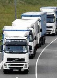 Los transportistas de mercancías por carretera de Castilla y León exigen a la Junta la retirada del céntimo sanitario