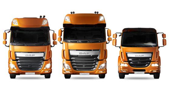 DAF se convierte en el primer fabricante de camiones que calza de serie los neumáticos Goodyear 'Kmax' y 'Fuelmax'