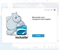 La EMT implanta en su web el servicio Inclusite que permite una accesibilidad universal a sus contenidos