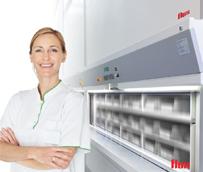 La farmacia Sonia Gutierrez de Madrid incorpora el sistema de dispensación 'Flux' de VRC Warehouse Technologies