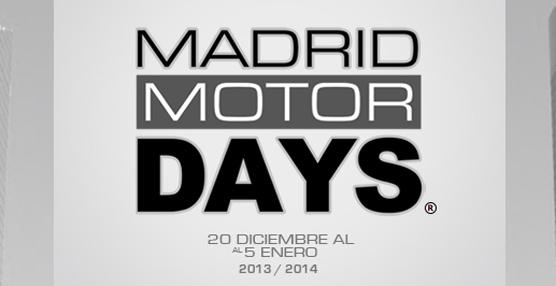 El grupo Fiat estará presente en 'Madrid Motor Days' del 20 de diciembre al 5 de enero en la Feria de Madrid