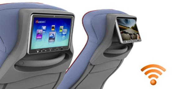 Azimut Bus Solutions instala su sistema de entretenimiento individual sin cables 'BusPad' en Viamar Autocares