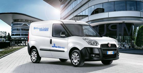 Fiat Professional entrega 530 vehículos comerciales a la empresa italiana Sirti