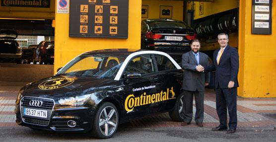 Continental ofrece vehículos de sustitución a sus clientes al cambiar sus neumáticos