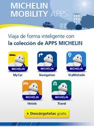 Michelin amplía su oferta de aplicaciones para móviles para facilitar los desplazamientos