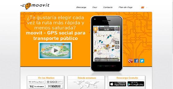 Aplicación Moovit.