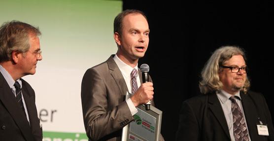 La nueva fábrica de ContiLifeCycle en Hanover-Stöcken ha recibido el Premio Europeo a la Sostenibilidad en el Transporte