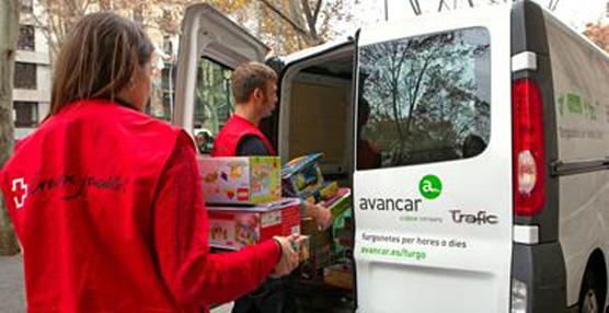 Creu Roja Joventut comienza la recogida de juguetes en Barcelona con Avancar