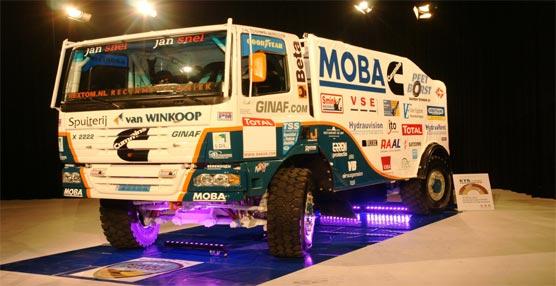 Camión preparado para la competición del Dakar.