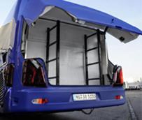 Setra introduce una nueva caja desmontable de carga para los modelos 'TopClass 500' y 'ComfortClass 500'