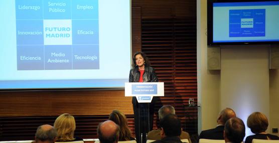La alcaldesa de Madrid presenta el Plan de Futuro de la Empresa Municipal de Transportes 2014-2015