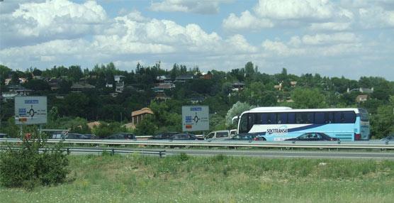 Autobús en ruta.
