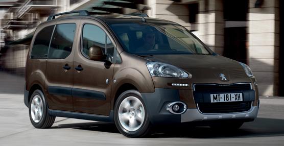 La casa Peugeot incluye en su furgoneta Partner el sistema Grip Control para condiciones de baja adherencia
