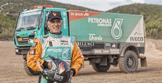 El equipo Iveco De Rooy con Pep Vila es el favorito para vencer en el Dakar