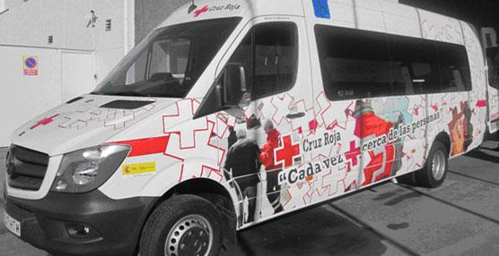 Cruz Roja española amplía su flota con un total de siete vehículos de UNVI modelo Vega PMR XL