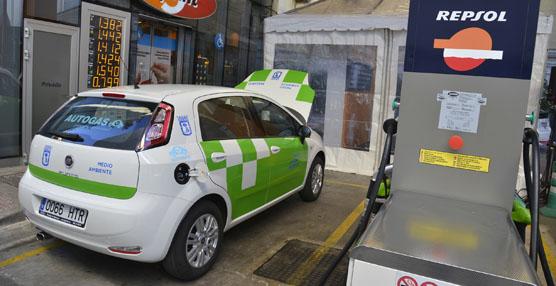 El Fiat Punto GLP testigo presencial en el Convenio Marco Colaboración entre Repsol y el Ayuntamiento de Madrid