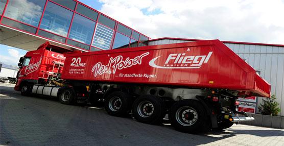 Fliegl desarrolla una nueva línea de camiones térmicos en Alemania como respuesta a la nueva normativa federal