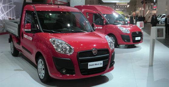 Fiat Professional presenta la versión turbodiésel con un motor de 75 caballos del modelo Doblò Cargo