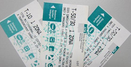 La ATM rectifica las tarifas de la T-50/30 por haber cometido un error de transcripción