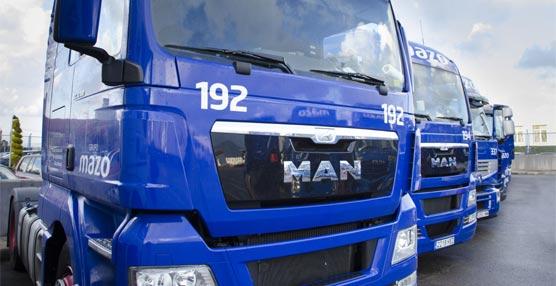 Transportes Mazo renueva su flota con 72 tractoras MAN TGX EfficientLine en el último trimestre de 2013
